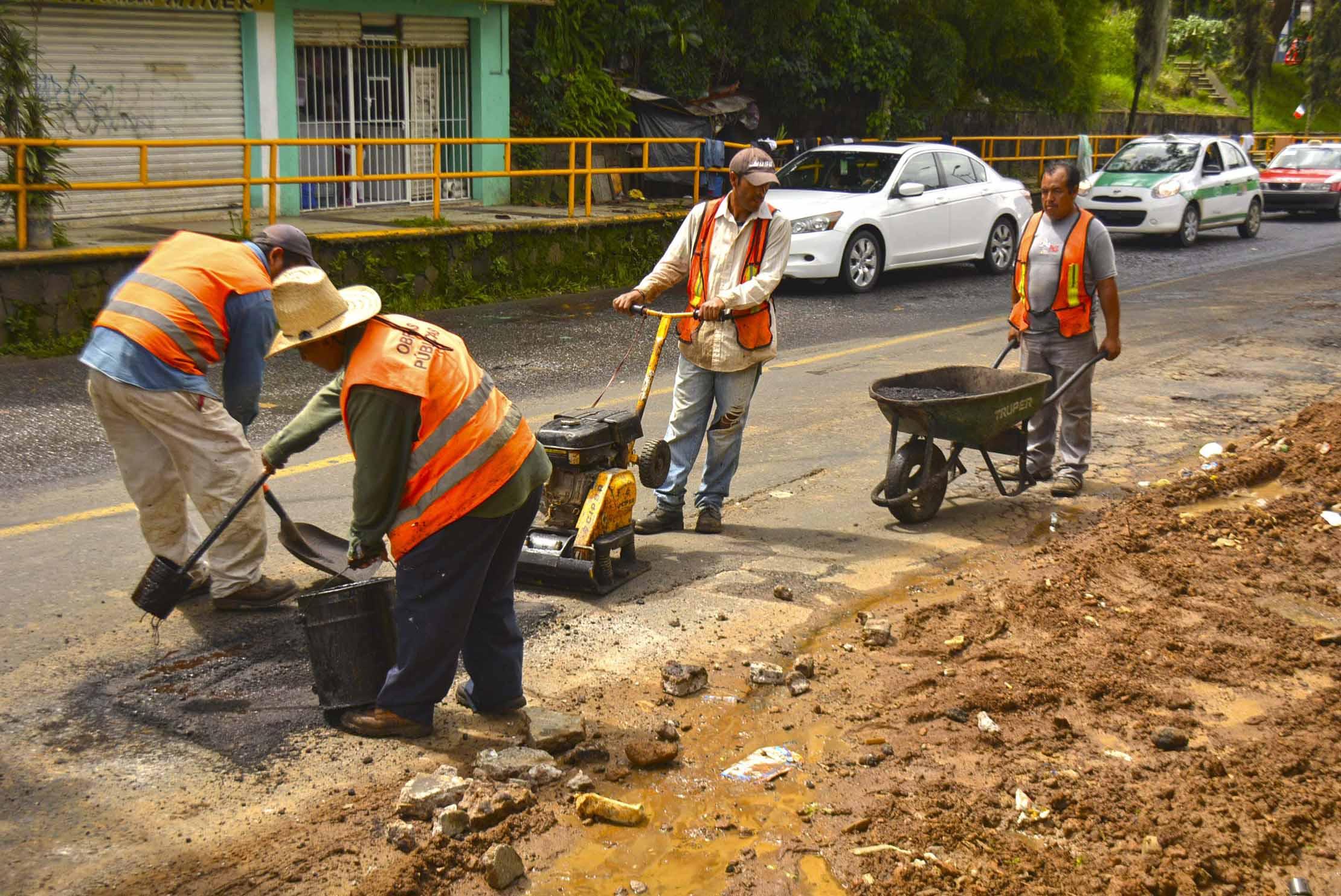 Circuito Presidentes Xalapa : Expediente mx tras lluvias continua ayuntamiento